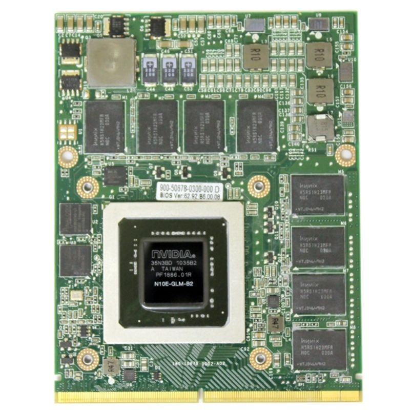 Thay Card man hinh VGA HP EliteBook 8740w