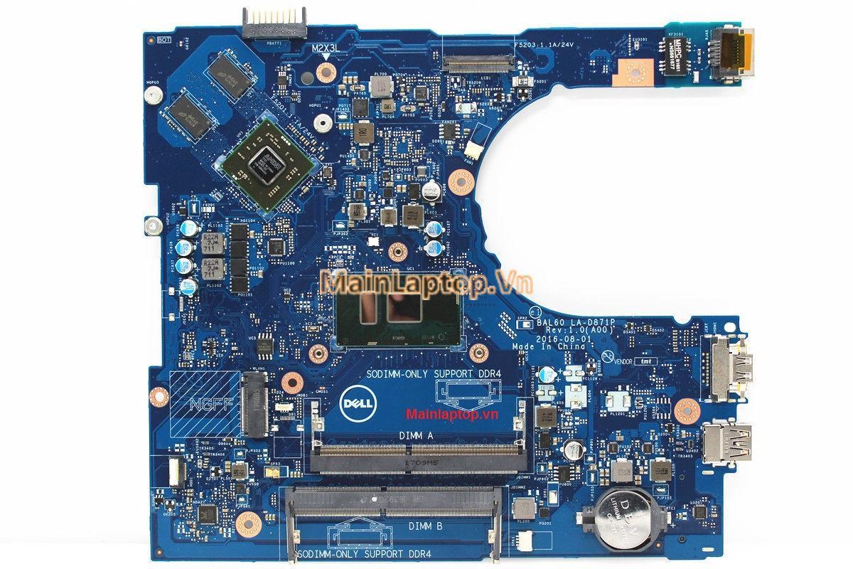 Main Dell Inspiron 5468 LA-D871P