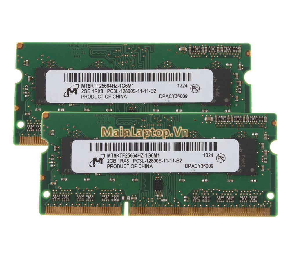 Thay thế nâng cấp Bộ nhớ ram laptop DDR3L