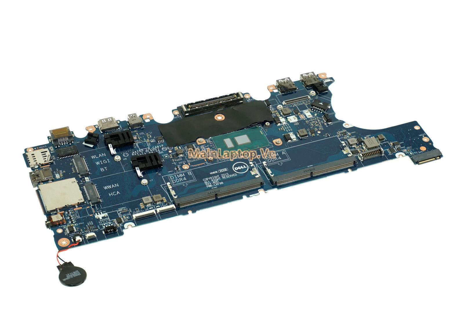 Main Dell Latitude E7470 AAZ60 LA-C461P