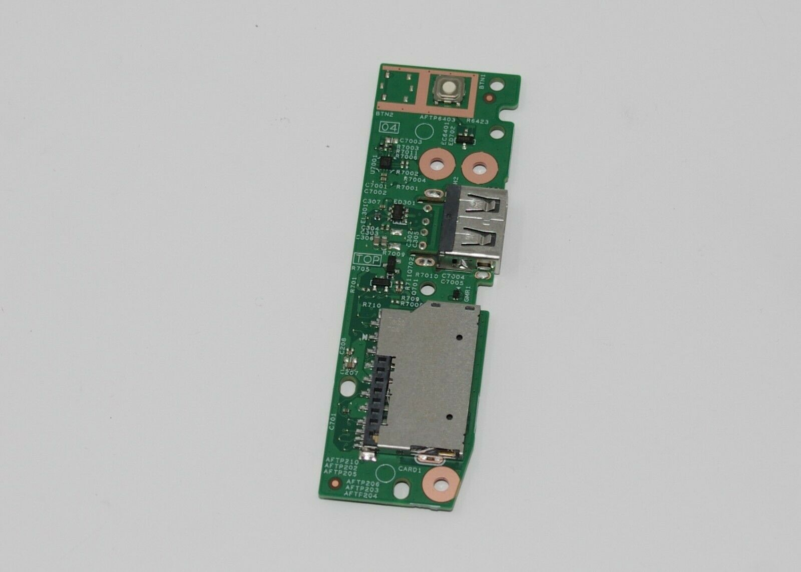 Board USB Thẻ SD Nút Kích Nguồn Dell Inspiron 5485